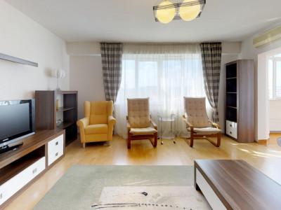 Apartament 3 camere, strada Muscel
