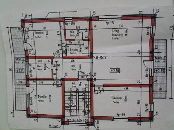 Apartament 4 camere, cartierul Grigorescu