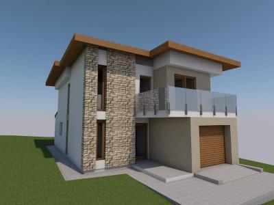 Casa noua individuala, 700 mp teren, Feleacu