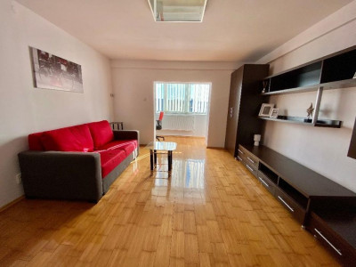 Apartament 1 camera, finisat si mobilat, zona strazii Dorobantilor.