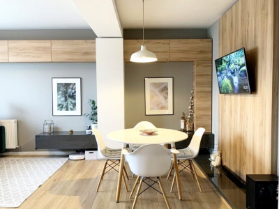 Apartament 2 camere, ultrafinisat, parcare subterana, cartier Europa.
