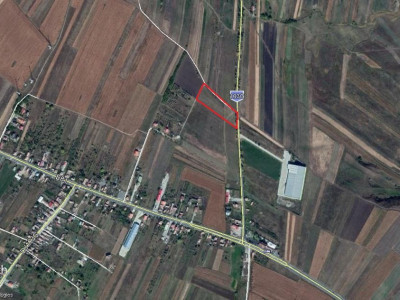 Teren cu autorizatie construire Hala, localitatea Tureni
