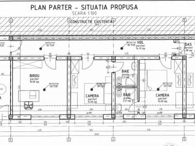 Cladire P+2E+M, pensiune/ sediu firma/ birouri, cartier Gruia.