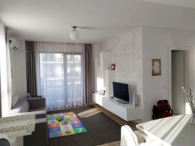 Apartament 2 camere, ultrafinisat, etaj intermediar, parcare, cartier Borhanci